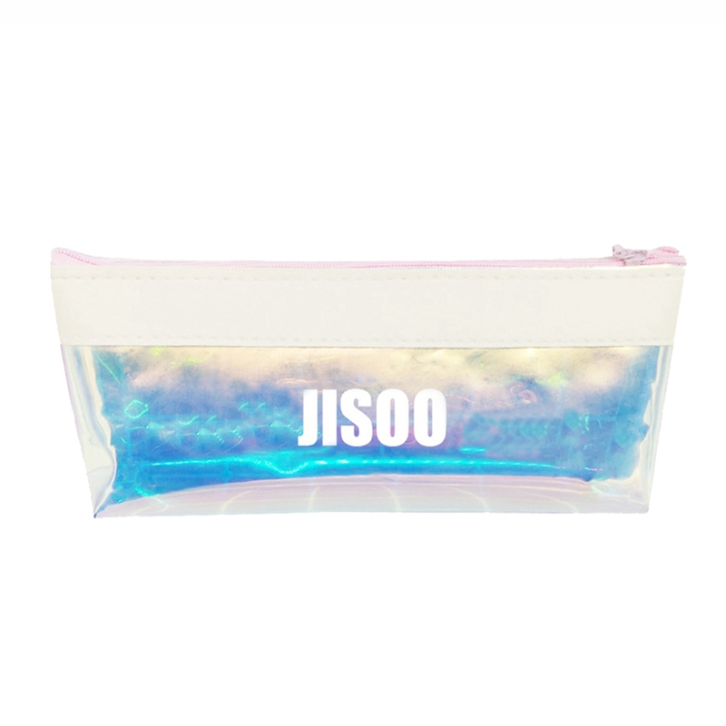 1pcs Blackpink Colorful Rainbow Laser Pencil Case Studens Gifts Office Pencil Pen Bag School Supplies To Be Distributed All Over The World