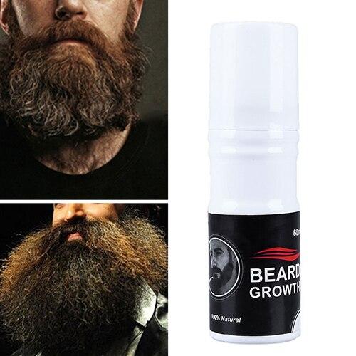 Fashion 60ml Men Beard Mustache Glow Stimulator Fast Nutriti