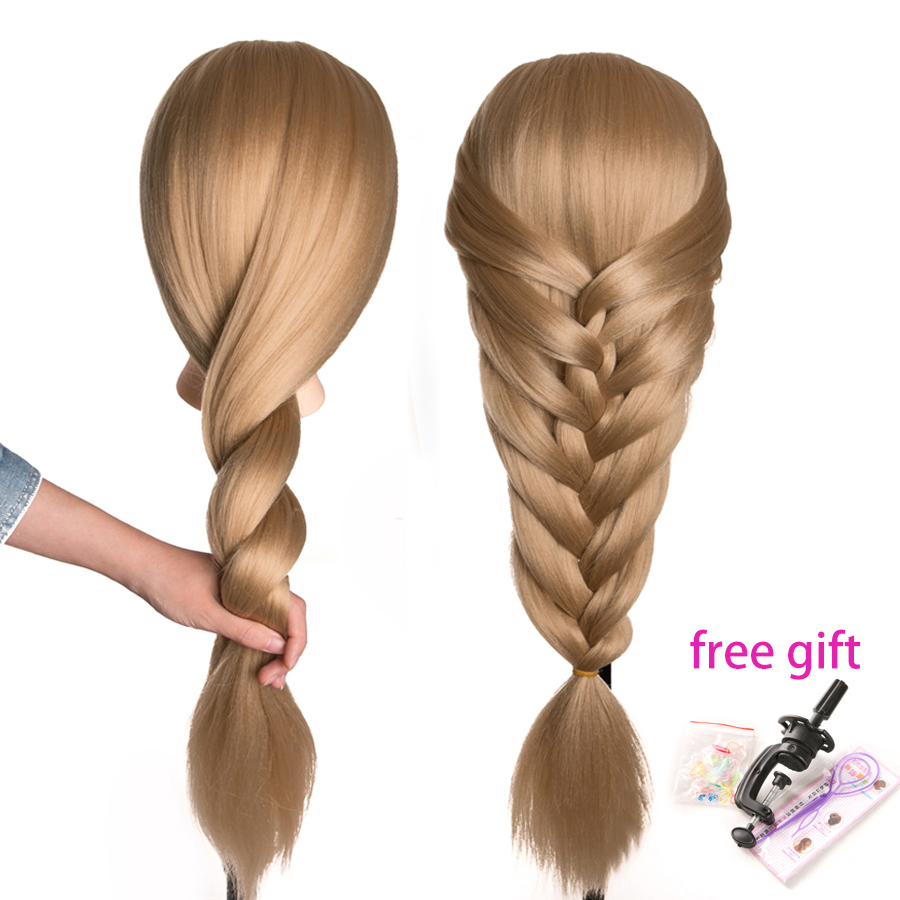 Mannequin Training Doll Head Female Mannequin Hairdressing Styling Training Head Nice High Quality Professional Mannequin Head