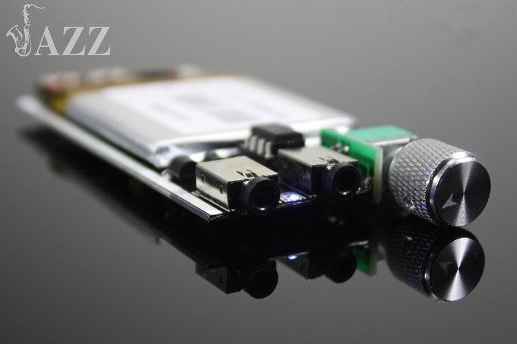 Hot JAZZ R7 8 Protable Amplifier HIFI Fever Headphone Audio Power Amplifier  Mini Portable Lithium DIY Headphone Amplifier