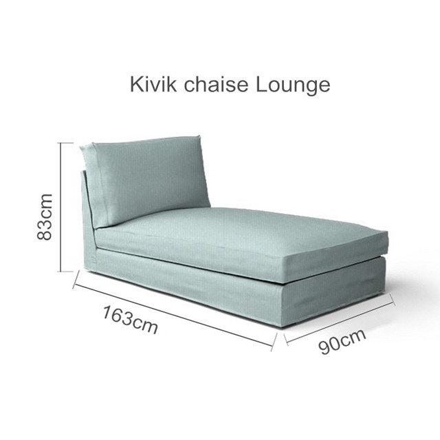 The Kivik Chaise Lounge Sofa Cover Replacement For Kivik Chaise