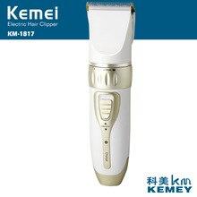 Kemei электрический триммер машинка для стрижки волос профессиональная машинка для стрижки волос стрижка перезаряжаемая Бритва для бороды Триммер для мужчин