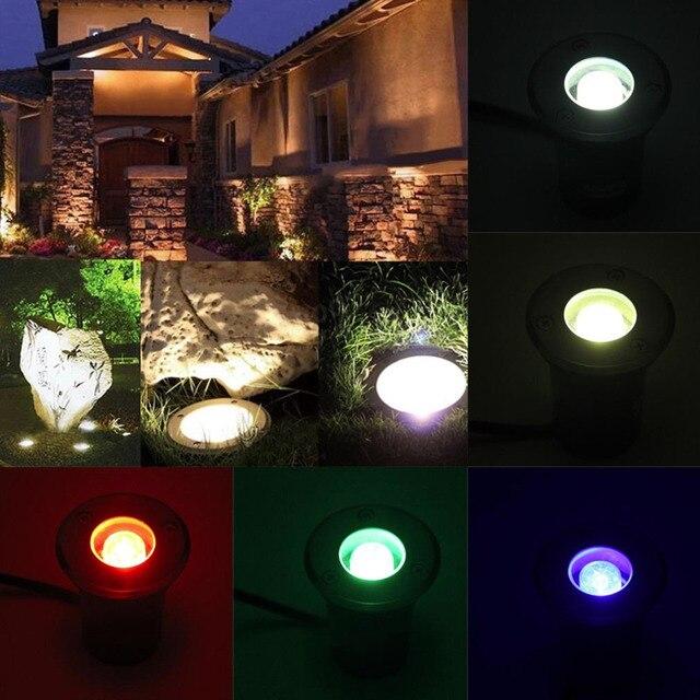 1W LED Waterproof Outdoor Ground Garden Path Flood Landscape Light AC 85-265V Worldwide store & 1W LED Waterproof Outdoor Ground Garden Path Flood Landscape Light ...