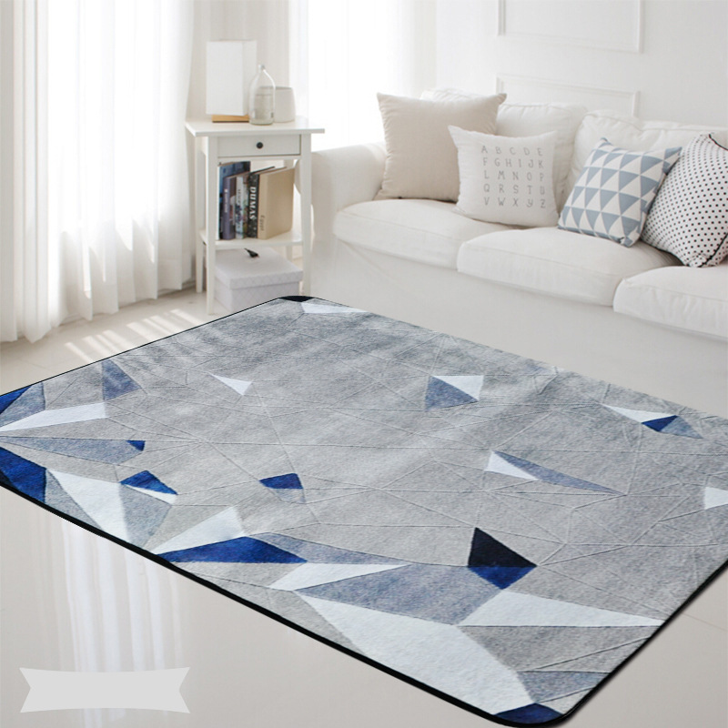 Style européen tendance zone tapis pour salon chambre maison tapis enfants chambre décor tapis table basse canapé antidérapant doux tapete