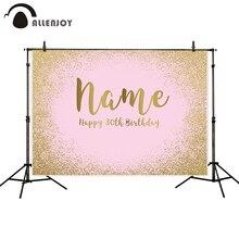 Allenjoy фотосессия фоны портретная дверь розовый мерцающий Золотые пески Пастель празднование дня рождения фото фон fotografica