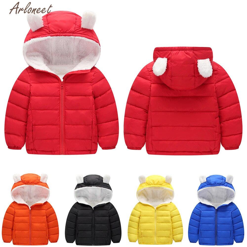 Baby Big Boy Down Hoodie Jackets Windproof Robot Pattern Outerwear Coat Blue 5-6