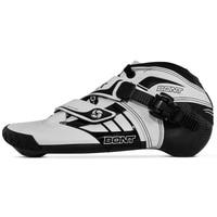 100% Original Bont Z 2PT 195mm Speed Inline Skate Heatmoldable Carbon Fiber Boot Competetion Racing Skating Boot Patines Shoes