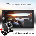 7 Inch Bluetooth Car Radio Audio MP5 Player Stereo Auto 2 Din Car Support Subwoofer AUX FM MMC MP4 Phone With Rear View Camera