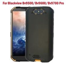 For Blackview Bv9500 Bv9600 Bv9700 Pro Black Matte Anti-knock Phone Case Soft Silicone TPU