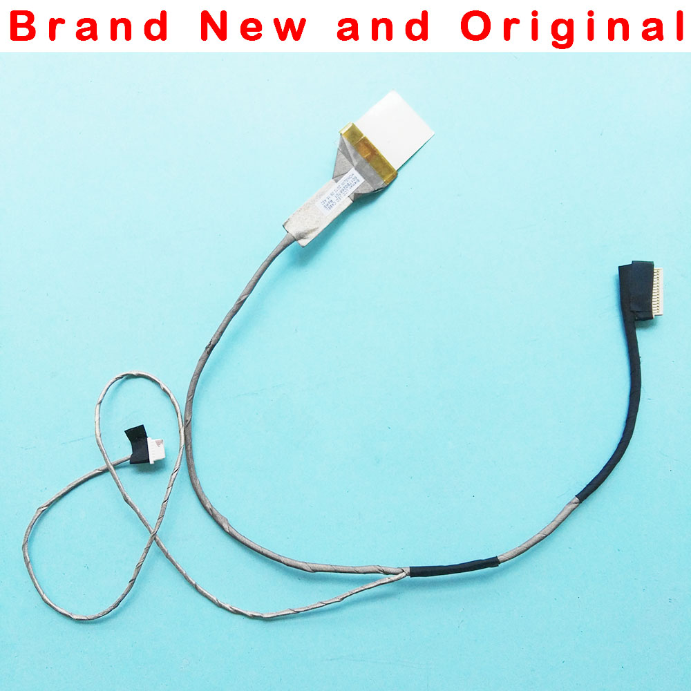 Computer Cables Yoton Laptop LCD LVDS Cable for Toshiba for Satellite L630 6017B0268701 6055B0014801 6055B0014802 DC5V 0.28A-0.5A Cable Length: LCD Cable