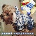 Лучшее качество зима теплая водонепроницаемый толстые собаки одежда снежинка собака одежда чихуахуа йоркширский пальто собаки кошка куртка с капюшоном