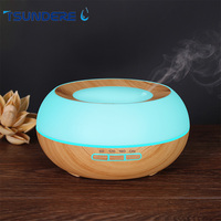TSUNDERE L Aroma Essential Oil Diffuser Ultrasonic Cool Mist Humidifier LED Night Light For Office Bedroom