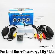 Для Land Rover Discovery 3 4/LR3 LR4 2005 ~ 2016/Провод или Беспроводной Автостоянка Камера/HD CCD Ночного Видения Камеры Заднего Вида