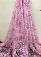 New arrival african feather lace fabrics high quality guipure lace fabric for Nigerian tullelace fabric