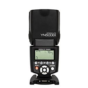 Yongnuo YN500EX E-TTL with HHS 1/8000s Flash Speedlight for Canon EOS 7D 6D 5D Mark II 60D 600D etc купить в Москве 2019