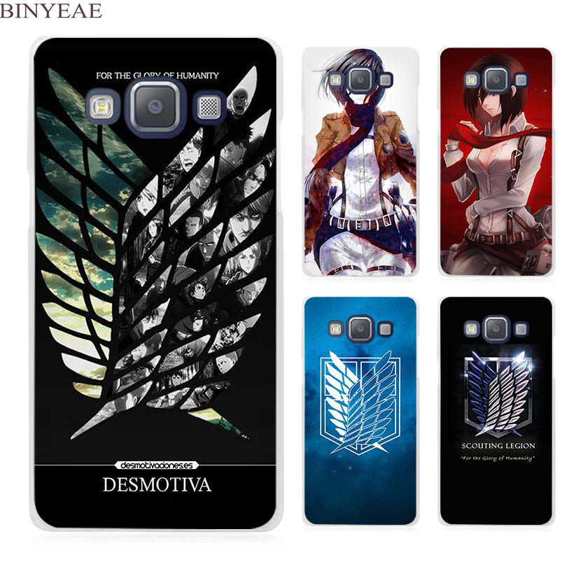 BINYEAE Attack On Titan logo japanese anime Clear ...