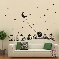 European Style Children S Room Wall Decor Starry Sky Fairy Tales Style Kid S Room Decorative