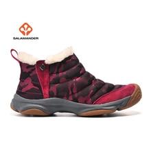 Salmander Для женщин зимние уличные Пеший туризм походы Спортивная обувь Сапоги и ботинки для девочек Обувь для Для женщин Снег Восхождение Mountain Сапоги и ботинки для девочек Обувь женщина