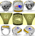 Fast shipping 2017 The Newest 2016 New England Patriots Super Bowl 51th MVP BRADY Championship Ring  size 8 9 10 11 12 13