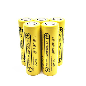 Image 5 - LiitoKala Lii 40A Original 21700 4000mAh 40A Rechargeable  Battery fits CAPO