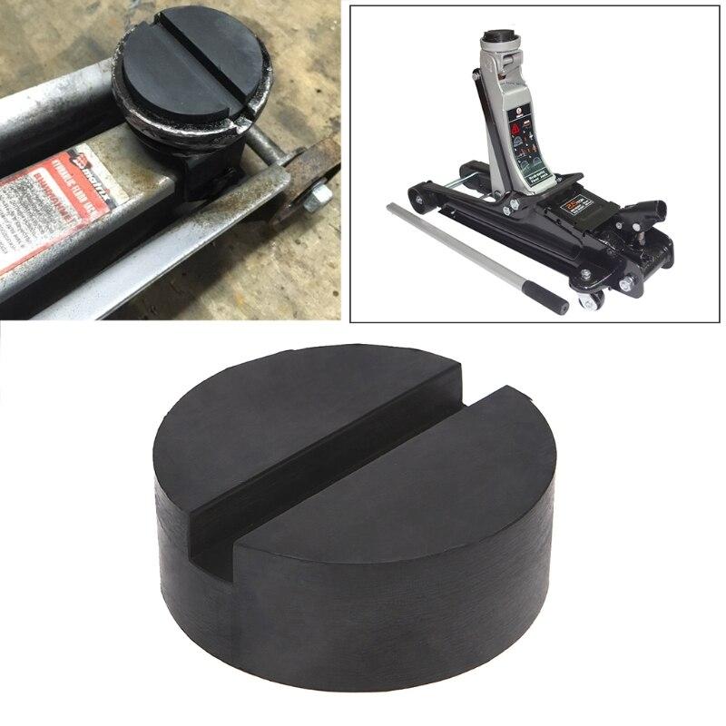 Piso entalhado jack almofada de borracha do carro quadro protetor guarda adaptador jacking disco almofada ferramenta para pitada solda lado disco de elevação