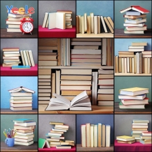 Yeele Modern Simple Bookshelf Room Backgrounds For photo studio Books Students school backdrops photocall photography photobooth