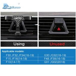 Image 5 - מהירות טיסה עבור BMW F30 F32 F34 F10 F15 F16 F48 F39 G01 G30 G32 G02 אביזרי פחמן מוגבלת טלפון בעל סוגר מיוחד הר