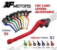 CNC Longues Frein Levier D'embrayage Pour Suzuki RGV250 Gamma 88-98 SV650S SV650 SV650N S/N 99-10 DL650 V-strom 04-10 RF600R 93-97