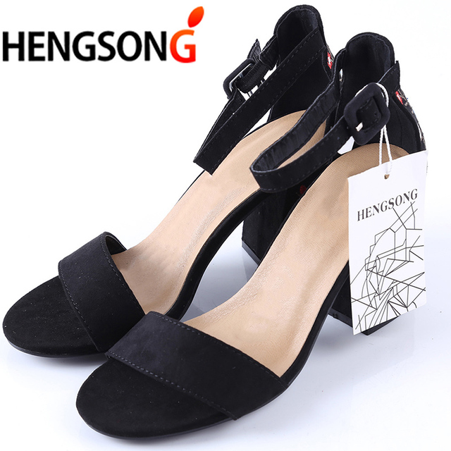 HENGSONG Women Sandals Embroider High Heel Women Sandals Ethnic Floral Sandalias Muje Party Shoes Zapatos Mujer TR913149 5