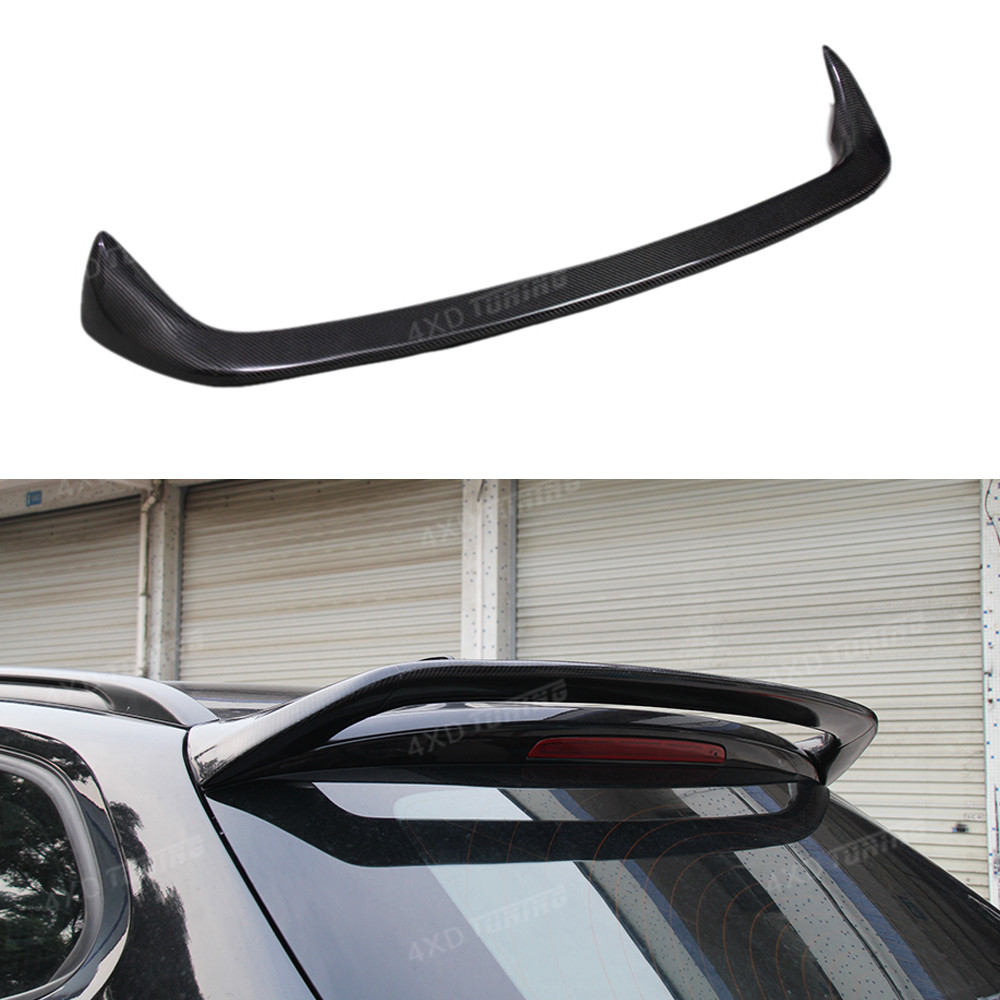 For BMW X1 E84 Carbon Spoiler AC Style X Series X1 E84 Carbon Fiber Rear Spoiler Rear Bumper Trunk Wing car styling 2011 - 2016 m4 style e93 carbon fiber rear wing spoiler for bmw e93 convertible 3 series 2005 2011 racing car styling tail trunk lip wing