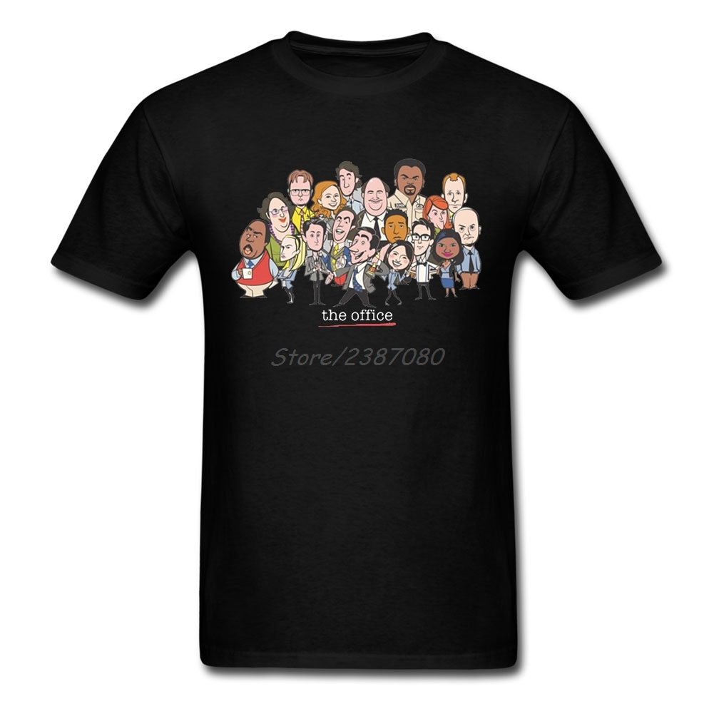 TV The Office T Shirt Cotton Crewneck Short Sleeve  Clothes Summer Free Shipping Big Size T Shirts
