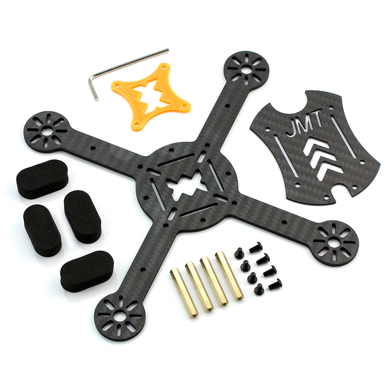 JMT X180 DIY Racing Drone Quadcopter Combo Frame w EMAX RS2306 2750KV 2400KV Brushless Motor BLHeli s 30A 4in1 20A 12A ESC in Parts Accessories from Toys Hobbies