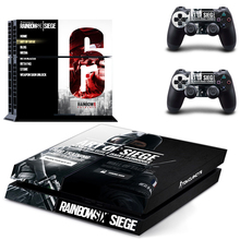 RAINBOW SIX SIEGE PS4 Skin Sticker Decal Cover  For Sony PS4 PlayStation 4 Console and 2 controller skins