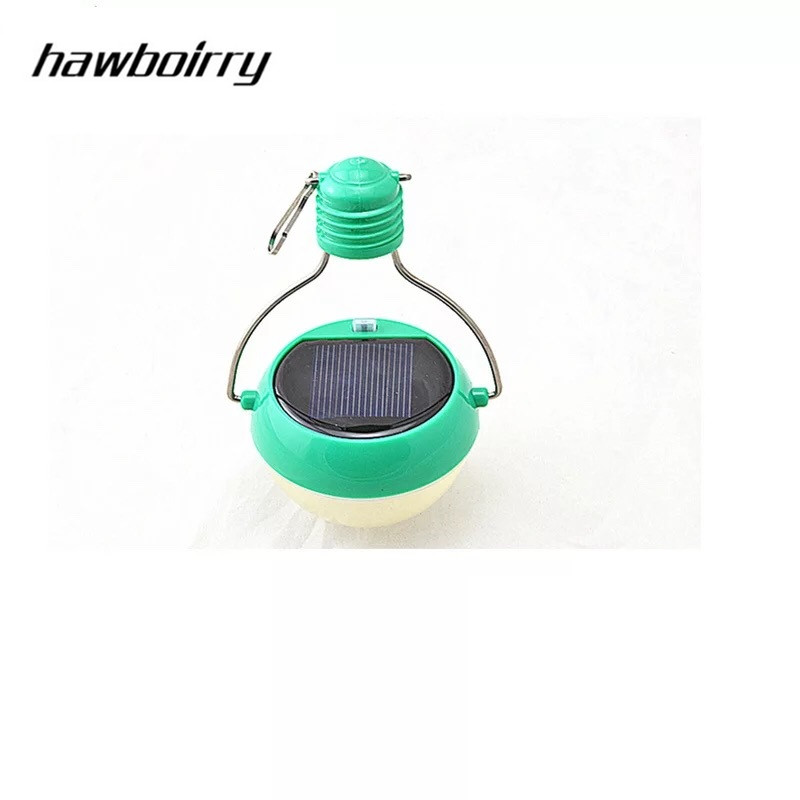 HAWBOIRRY LED solar night light camping tent light intelligent control outdoor travel lawn light in Solar Lamps from Lights Lighting