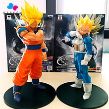 Kissen Anime Dragon Ball Z Brinquedos Goku Vegeta Action Figure Juguetes Dragonball Resolution of Soldiers Figures Collection