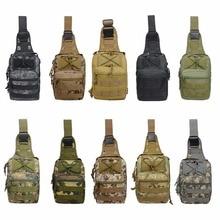 Одноцветное для мужчин нейлон Военная Униформа Тактический сумка крест сумки на плечо для Открытый пеший Туризм Отдых путешествия 600D