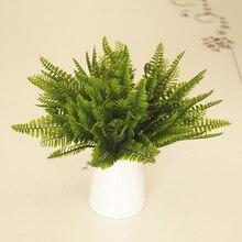 Simulation Artificial Plant Vivid Persian Grass Decoration for Wedding Home Party BDF99