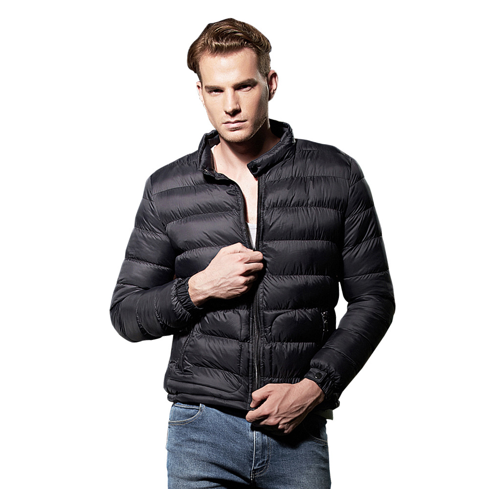 2017 Autumn Winter New Arrivals Mens Casual Brief Jacket Coat Plus Size Men Cotton Padded Warm Parkas 2016 new long winter jacket men cotton padded jackets mens winter coat men plus size xxxl