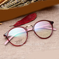 Tr90 ретро женщины мода очки кадр очки оптический Gafas óculos де грау Feminino ясно очки