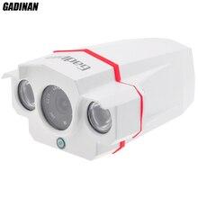 ONVIF CCTV H.264 2MP 1920*1080 1080P 6MM IP Network Outdoor Waterproof 2 Array IR LEDs Night Vision Security IR Camera