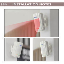 Wireless Intelligent PIR Motion Sensor Alarm Detector For GSM PSTN Home Burglar Alarm System Security Built-in antenna