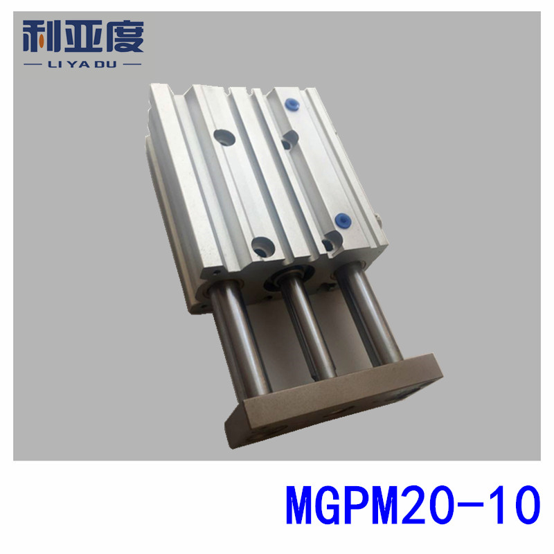 SMC Type MGPM20-10 cylindre mince avec tige MGPM 20-10 trois axes trois barres MGPM20 * 10 composants pneumatiques MGPM20X10SMC Type MGPM20-10 cylindre mince avec tige MGPM 20-10 trois axes trois barres MGPM20 * 10 composants pneumatiques MGPM20X10