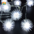 Flakes 3M 30LED Holiday Snowball LED String Lights AA Battery Event Wedding Party Decoration Lightings LED de Vacaciones Luces