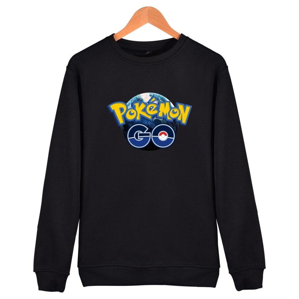 LUCKYFRIDAYF Valor Mystic Instinct Pokemon Go Hoodies Sweatshirt For Men Women Clothing Print Pocket Monster Funny Games Capless