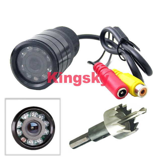 waterproof Car vehicle Rear View reverse Camera 9 IR LED Night Vision cam,wide angle for Backup system