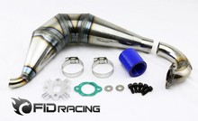 FID DH tuned pipe for 1/5 rear straight bridge dragon hammer ( rc car)