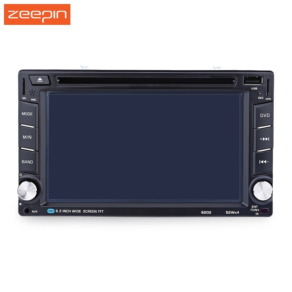 2 din 6 2 39 39 auto car dvd player video stereo radio. Black Bedroom Furniture Sets. Home Design Ideas