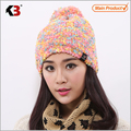Double Sided Cuffed Ball Top Winter Knit Hat Established Ball Top Winter Knit Hat