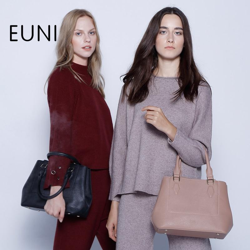 EUNI Luxury Handbags Women Bags Designer Top Quality Shoulder Bag For Women Fashion Exclusive Handbags Women Famous Brands Bolsa