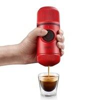 Капсулы и землю Кофе maker Портативный давление руки мини бытовой два в одном версии для путешествий Кофе maker